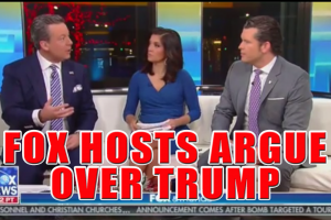 Fox Hosts Argue Over Trump Blaming Dems For Migrant Deaths