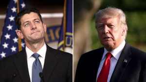President Trump Unloads on Paul Ryan with Both Barrels in Late Night Tweetstorm