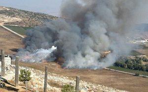 BREAKING: WAR! ISRAEL & HEZBOLLAH EXCHANGE MISSILE FIRE ON LEBANON BORDER