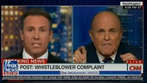 Rudy Giuliani Slams CNN. Chris Cuomo Fakes Cluelessness About Biden Bribery In Ukraine