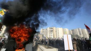 """Breaking:Twitter Promotes """"Death To America"""" As Iraqi's Storm & Set Fire To U.S. EmbassynewText"""