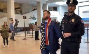BREAKING: Owen Shroyer From Infowars Arrested Over Silent Anti-Censorship Demonstration on Capitol Hill