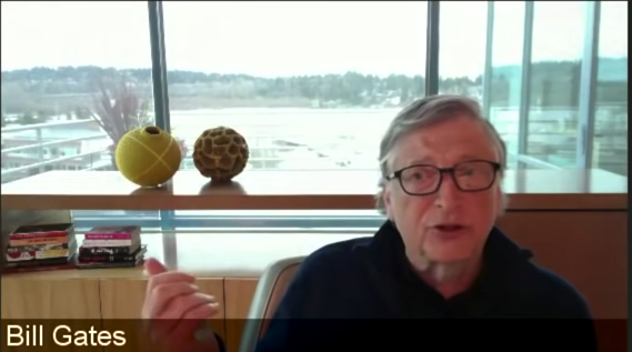 THE MOST DANGEROUS MAN ON EARTH: Bill Gates Admits-On Video-Real Reason For The Lock-Downs