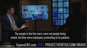PROJECT VERITAS STRIKES AGAIN! CBS NEWS CAUGHT STAGING FAKE CORONAVIRUS NEWS