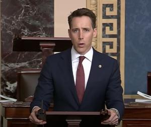 The Fraud Of The Conservative Bargain – Josh Hawley Rips Rhinos On Senate Floor