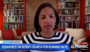 """Susan Rice Says Trump Supporters Belong in the """"Trash Heap of History"""""""