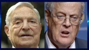 """2063-9AM ANTI-AMERICAN THINK TANK: George Soros & Charles Koch Team Up To Oppose Trump With """"Quincy Institute"""""""