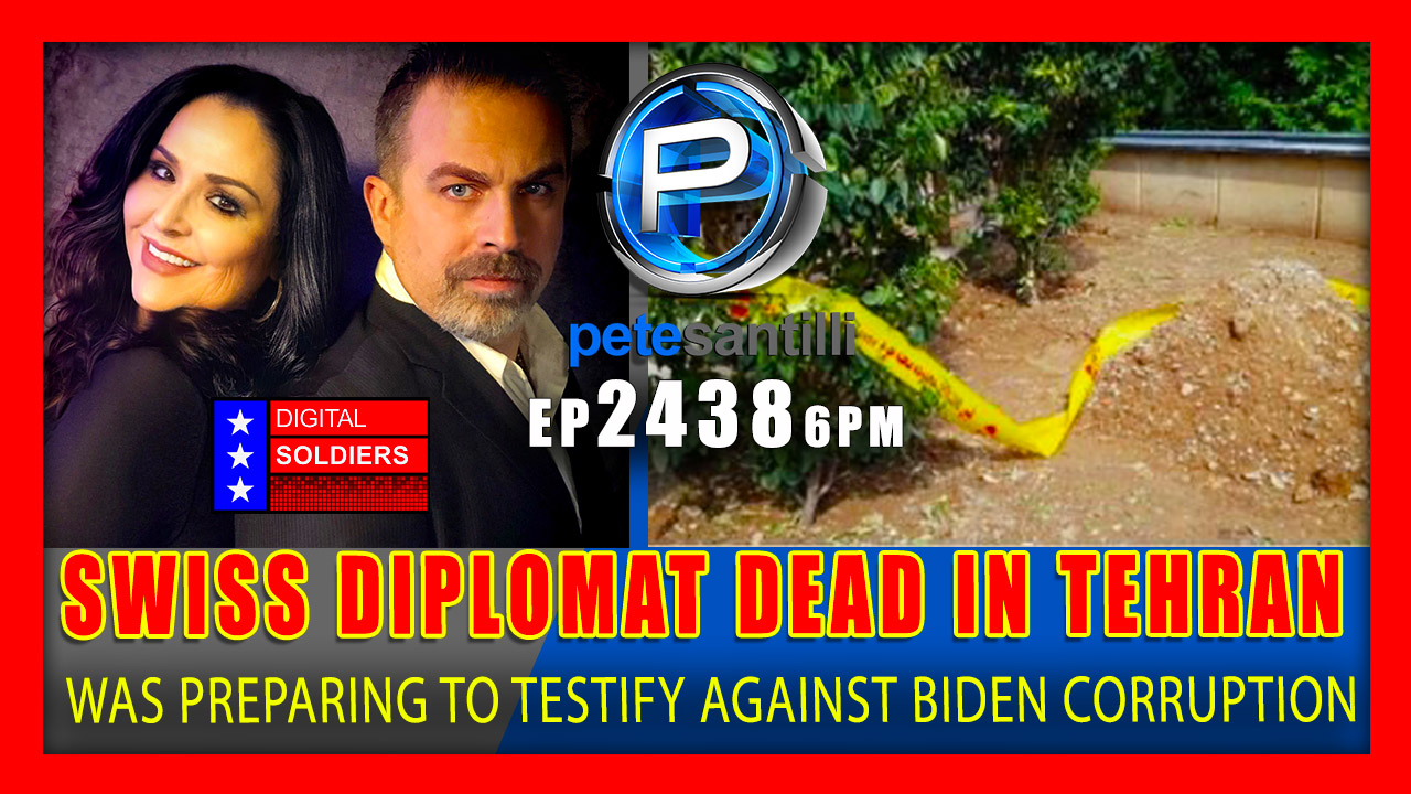 EP 2438-6PM Swiss Diplomat Who Was Preparing To Testify Against Biden Corruption Found Dead In Tehran